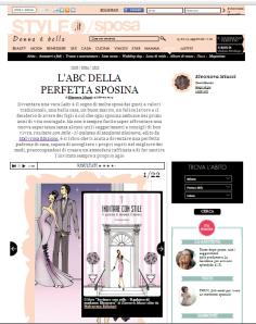 home page su style.it padrona di casa