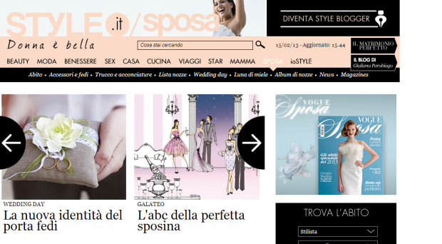 home page su style.it