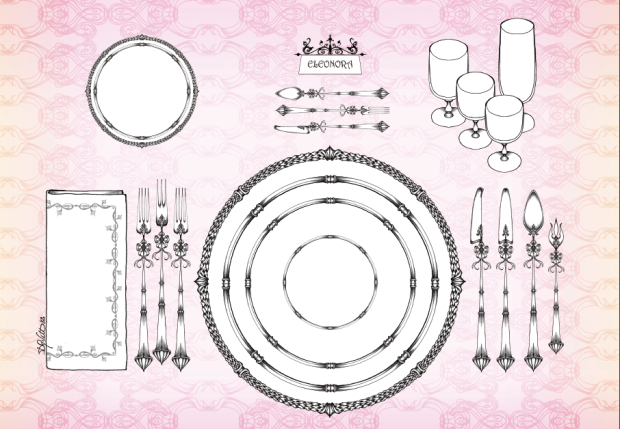 table setting formale
