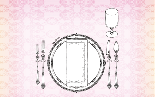 table setting informale