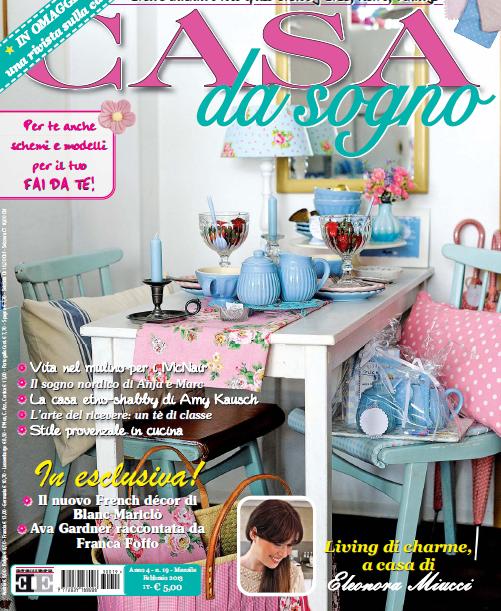 Sulla rivista casa da sogno di febbraio il galateo di for Rivista di case da sogno
