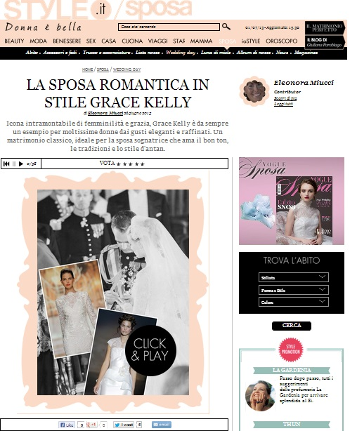 grace kelly per style.it in home page1