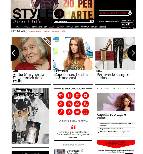 grace kelly per style.it in home page12