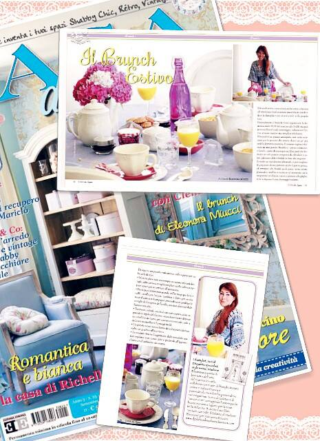 Il brunch estivo sulla rivista casa da sogno di settembre for Rivista di case da sogno