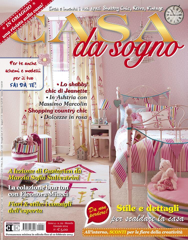 madame eleonora sulla rivista casa da sogno di gennaio
