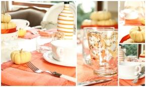 table decor zucche