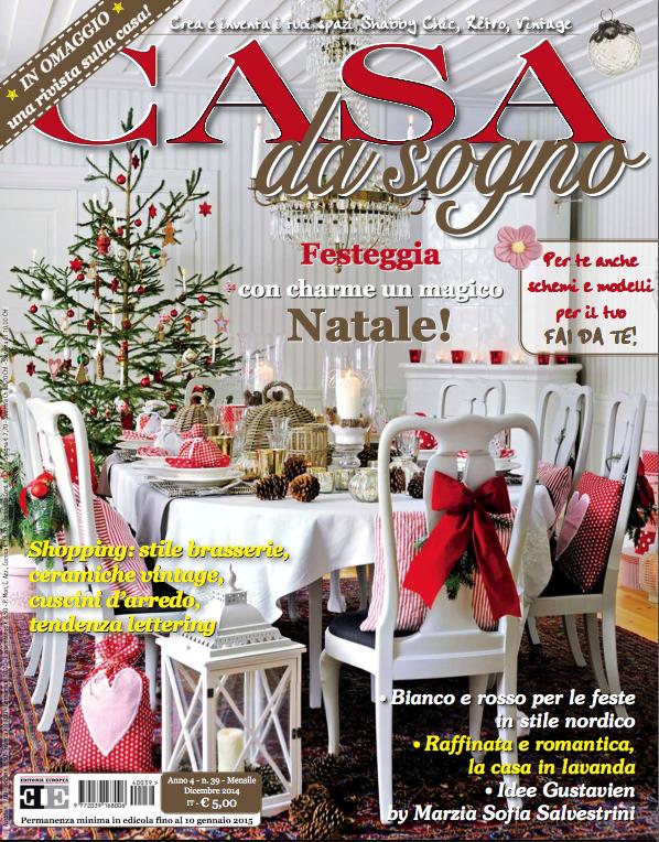 White christmas di eleonora miucci sulla rivista casa da for Rivista di case da sogno