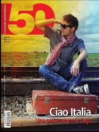 intervista per rivista 50&più cover