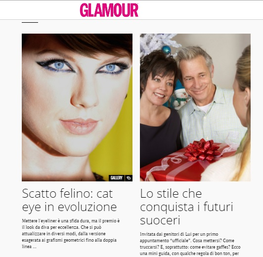 glamour intervista
