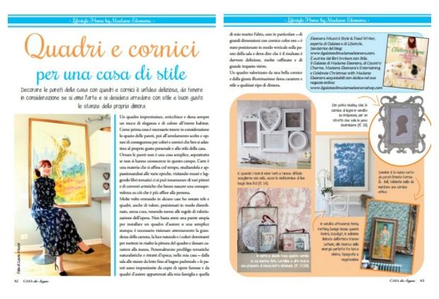 Madame Eleonora on magazine