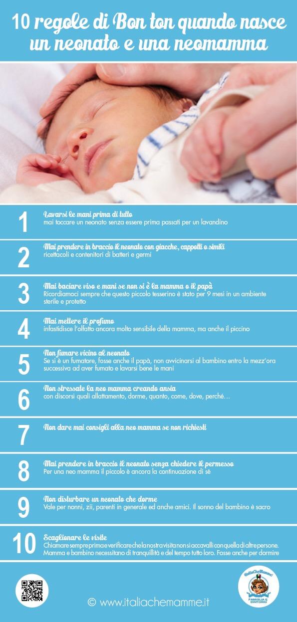 Galateo Lannuncio Della Nascita E I Regali Per Il Neonato